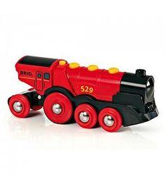 Brio 33592 - Gran Locomotora roja a pilas
