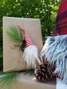 Schwedische Tomte Nisse Gnome Wald hängende Ornamente