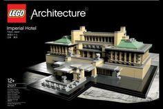 LEGO Architecture: Tokyo Imperial Hotel • Highsnobiety