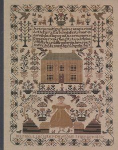 Hannah Lancaster reproduction sampler www.silentstitches.com