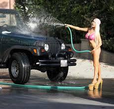 Courtney Stodden Bikini Car Wash
