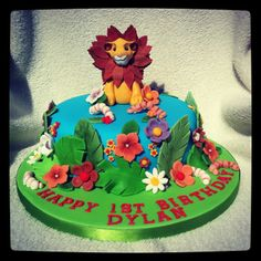 Lion King 1st birthday cake
