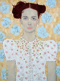 Janine Mini Art Print by Ryan Pickart - Without Stand - x L'art Du Portrait, Portrait Ideas, Kunst Online, Art Moderne, Art Design, Interior Design, Painting & Drawing, Painting Portraits, Artist Painting