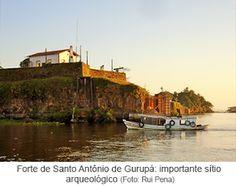 Encanto Caboclo: Começaram as escavações no Forte de Santo Antônio ...