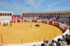 """Forcados"" training. Mourão bullfight ring. Alentejo, Portugal"