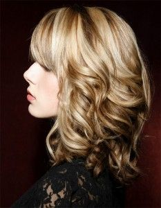 Medium Length Wavy Hairstyles for Fine Hair