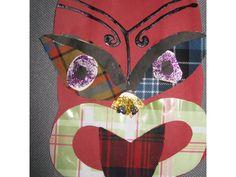 Taniwha from St Brigids Dunedin 'Tartan Taniwha' Art For Kids, Crafts For Kids, Arts And Crafts, Maori Patterns, St Brigid, Recycle Art, Jr Art, Maori Art, Boy George