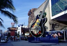 Hard Rock Cafe Cancun, Mexico.