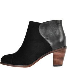 Wolverine by Samantha Pleet Black Demi Boot