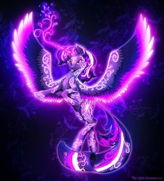 Arcane Powers. I absolutely love this. I haven't found any for the other alicorns, but I wish they existed.