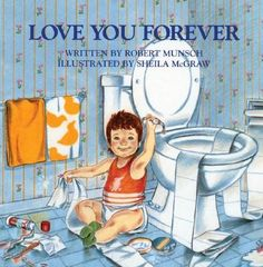 Favorite book as a kid!!! I will read it to my kids for sure!! This my favorite book as a parent. It always makes me cry, as children and parents are a continuous cycling circle of love for each other.