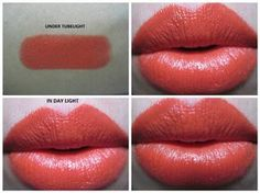 #Colorbar #CremeTouch #OrangeGlow #Lipstick #review #price and details on the blog #lipswatch