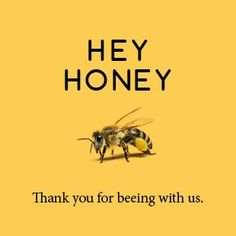Cute honey bee art