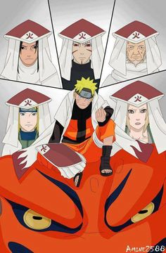 Hokages. Just saying, if Naruto doesn't become Hokage by the end, I'll be infuriated