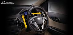 The i20's tilt and telescopic steering, adds comfort to your drive. Do you agree?