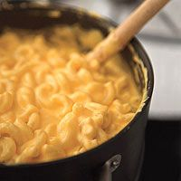 Make mac and cheese in minutes.