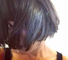 A selfie from one of my favourite #models @prinz_von_theben we created this #beautiful #blue using @davinesdeutschland colours once again. I started by taking deep zigzag sections, prelightened them up and created a inky blue to put through as a toner. . . #bluehair #haircolor #haircolour #bob #beauty #hair #haare #haircut #selfie #create #berlindubistsowunderbar #berlin ##fashion #style #bangs #fringe #pony #deutschland #pretty