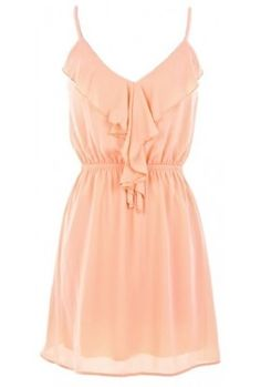 The 2013 Ruffle Peach Dress