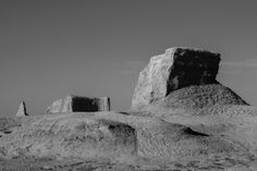 wilde Gesteinsformationen in der windgeformten Geisterstadt Moguicheng, Xinjiang, China Wilde, China, Mount Rushmore, Inspire, Mountains, Nature, Inspiration, Travel Report, Biblical Inspiration