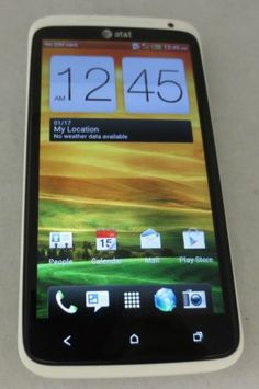 HTC One X 16GB White AT&T UNLOCKED Smartphone Fair Condition CLEAN IMEI