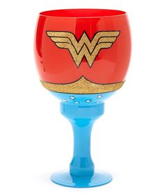 Take a look at this Wonder Woman Goblet on zulily today!