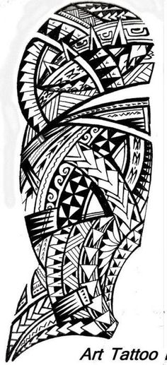 Modèle pour Tattoo Masculin sur l'épaule, le Bras et le démarrage du coude