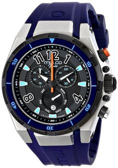 MULCO Unisex MW1-81197-044 Analog Display Swiss Quartz Blue Watch *** Learn more by visiting the image link.