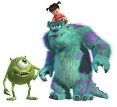 Google Image Result for http://2.bp.blogspot.com/-zOLFkBU3ods/TdPzvSGHGpI/AAAAAAAAAAo/jwYruG4POA0/s1600/Monsters_Inc-Boo_Sulley_and_Mike.jpg