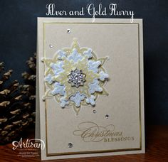 Stampin' Up's Artisan Design Team is bringing you projects from our November box this week! You will see that the SU season is turning a bit more towards the holidays. Sparkle, snowflakes and so much more! If you have come over from amazingJeanna, welcome to the next stop.