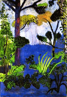 Moroccan Landscape (also known as Acanthus)      Henri Matisse - 1912