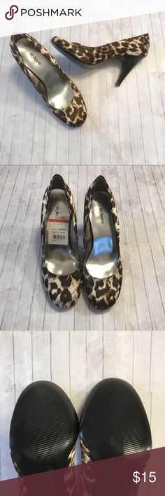 """Style & Co. Animal Print Stiletto Heels New w/ Tag Brand New Animal Print Heels. Super Cute! Must have for any wardrobe! These have a 3.5"""" heel. Can be worn with any outfit! Style & Co Shoes Heels"""