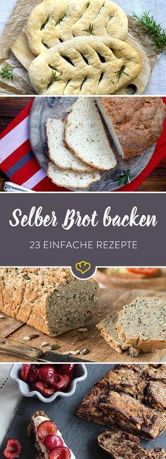 Der Duft von frisch gebackenem Brot – so gut wie kein anderer. Wenn er durch die Küche strömt und das Wohnzimmer streift, ja dann – dann kommen selbst Nachteulen aus ihren Nestern geflogen. Dazu eine Tasse Kaffee oder einen Becher Tee und der Morgen ist perfekt. Von süßem Brioche über luftige Focaccia bis hin zu kernigem Dinkelbrot – die Bloggerschmiede hat die Pforten ihrer Backstube geöffnet und uns ihre liebsten Brot Rezepte verraten.