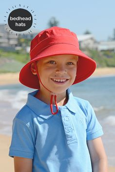 cd39b21a8fe Bedhead kids bucket hat gives great coverage over the face and shoulders.  Perfect for use