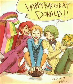 Happy Birthday Donald _ Por Chaico