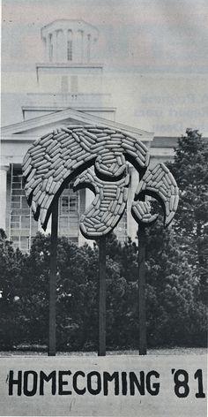 1981 corn monument, found in Iowa Engineer, fall 1981, p.2