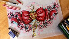 Sailor Moon Sternum Design. - BRUH!!! dont make me get one of these!!!!!