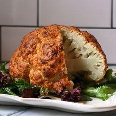 Roasted Cauliflower #cauliflower #veggies