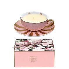 Mor Marshmallow Fragrant Tea Cup Candle (165g) I want this!