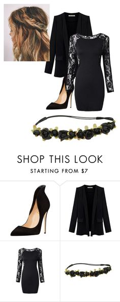 """black"" by drea97-1 on Polyvore"