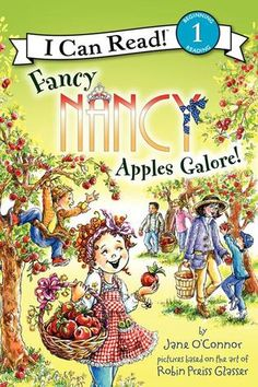 Join Fancy Nancy on the perfect fall field trip—to the apple orchard. Fall is an extra-fancy season. Even the trees wear fancy colors!