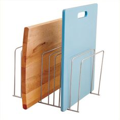 Use file folder organizer for cutting boards
