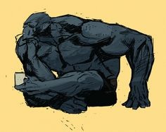 Hank McCoy/Beast by Kris Anka Comic Book Artists, Comic Books Art, Comic Art, Marvel Heroes, Marvel Comics, Comic Character, Character Design, X Men Evolution, Man Beast