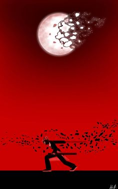 """Adam Taurus from RWBY, activating his semblance, """"Moonslice"""". An exact tracing of his first conduction of the attack in his first scene, during RWBY's B. Adam Taurus Moonslice (Re-Animated) Taurus Wallpaper, Rwby Adam, Rwby Cinder, Takeo, Rwby Fanart, Anime Characters, Samurai, Scene, Animation"""