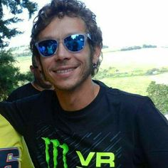 Valentino Rossi #VR46 - LOVE this photo