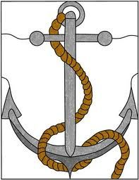 stained glass anchor