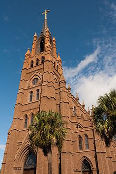 Where Richard and I were married. The Cathedral of St. John the Baptist is the mother church of the Roman Catholic Diocese of Charleston, located in Charleston, South Carolina.