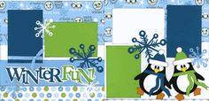 Winter Fun Page Kit