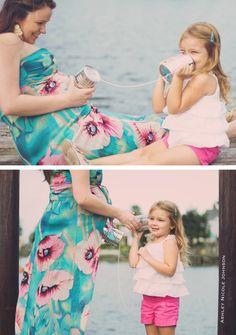 creative maternity photography