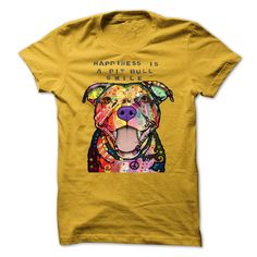 Pitbull t shirts + for Men & Women - Happines is a Pit Bull Smile   Our bestseller tees are back! Purchase here: https://www.sunfrog.com/Pets/PIT-BULL-Ugly-Christmas-Sweater-style-Printed-Tee.html?88749   Please Share & Tag someone who would wear this! Printed in the USA!   SKU: 78030340 Price: $ 19.00 Size: S, M , L, XL, 2X, 3X, 4X, 5X Type: Guys Tee, Hoodie, Ladies Tee