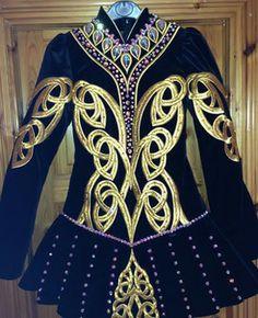 Siopa Rince Irish Dance Solo Dress Costume